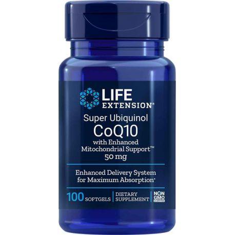 Super Ubiquinol CoQ10 with Enhanced Mitochondrial Support™, 50 mg 100 softgels