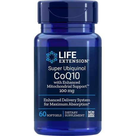 Super Ubiquinol CoQ10 with Enhanced Mitochondrial Support™ 100 mg, 60 softgels