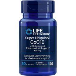 Super Ubiquinol CoQ10 mit Enhanced Mitochondrial Support™, 200 mg 30 softgels