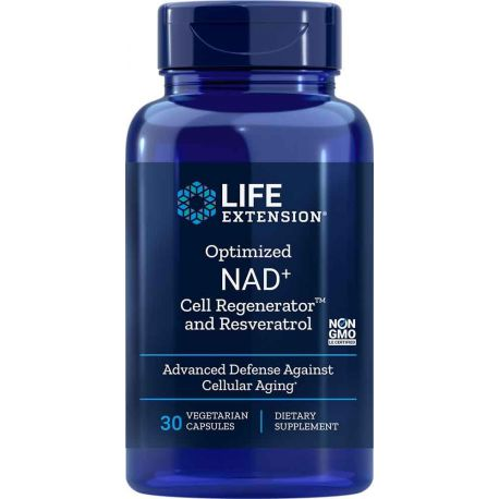 Optimized NAD+ Cell Regenerator™ and Resveratrol