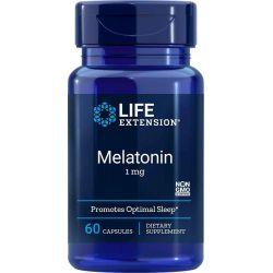 Melatonina 1 mg, 60 kaps.