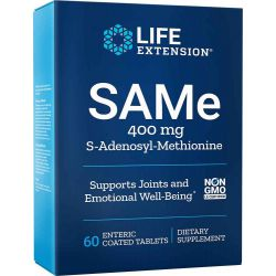 SAM-e (S-Adenosyl-Methionine) 400 mg 60 tablets