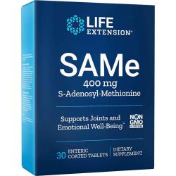 SAM-e (S-Adenosyl-Methionine) 400 mg 30 tablets
