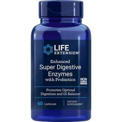 Super Enzymy Trawienne z Probiotykami, 60 kaps.