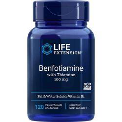 Benfotiamina z Tiaminą 100 mg, 120 kaps.