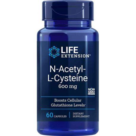 N-Acetylo-L-cysteina (NAC), 60 kaps.