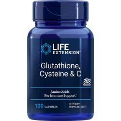 Glutathione, Cysteine & C