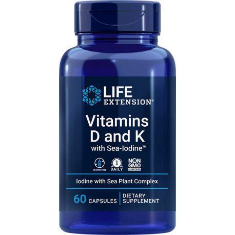 Vitamins D and K with Sea-Iodine™