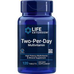 Zestaw Witamin i Minerałów Dwie Tabletki Dziennie, 120 tabletek