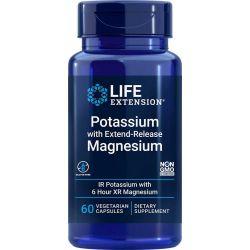 Potassium avec magnésium à libération prolongée