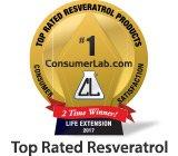 ConsumerLabs.com Award_Resveratrol_2017