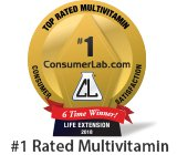 ConsumerLabs.com Award_Vitamin_2018